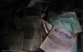 Schoolbooks – Ntarama Genocide Memorial, Rwanda