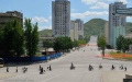 City scene - Kaesong, North Korea