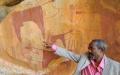 Estimated 7000 year old rock art - Las Geel, Somaliland