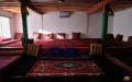 Interior of guest house in Qala-e Panja - Afghanistan
