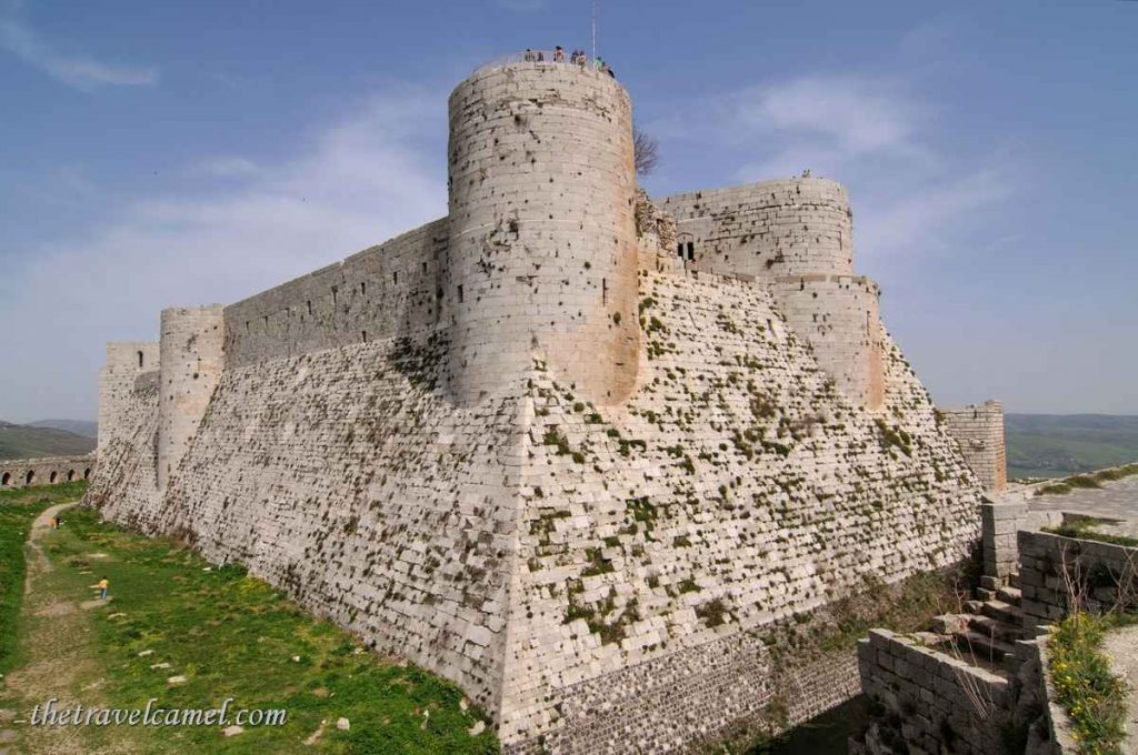Inner fortress at Krak des Chevaliers – Syria