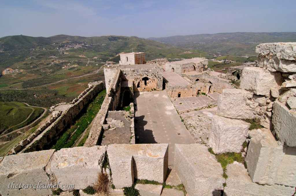 View from Krak des Chevaliers - Syria