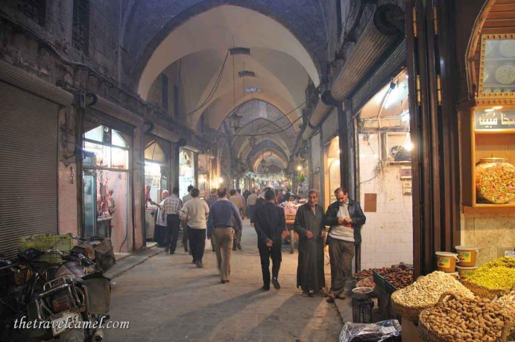 Aleppo souq - Syria