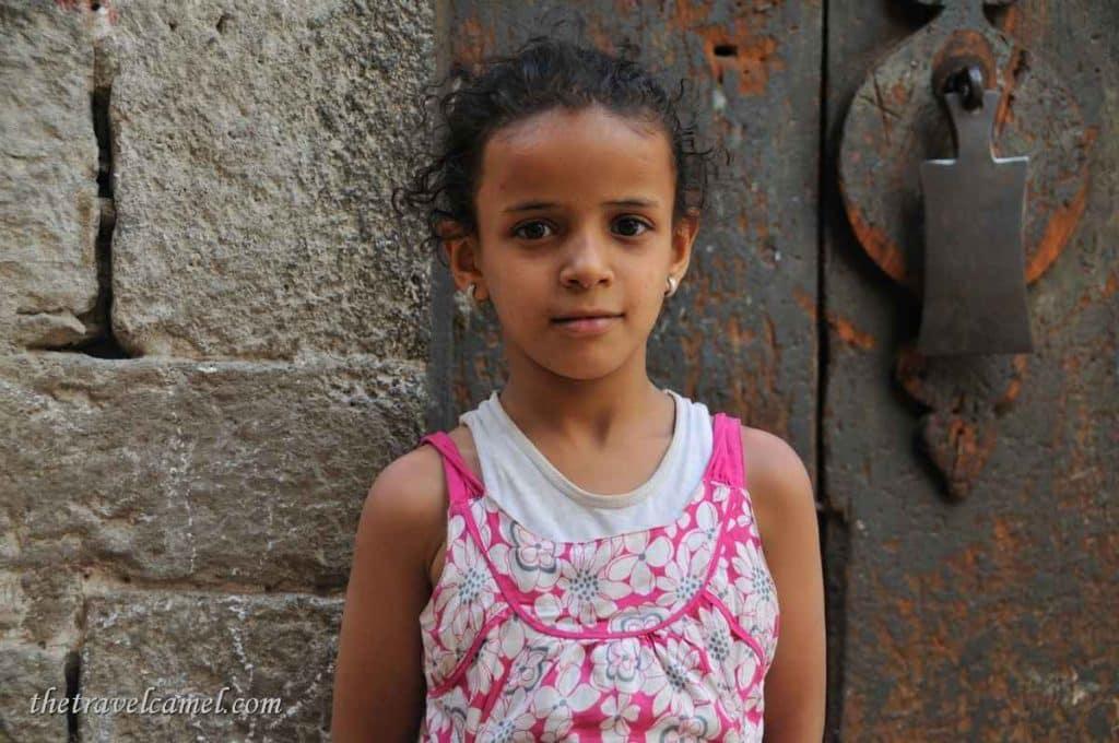 Girl - Sana'a, Yemen