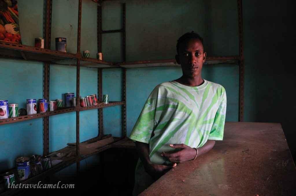 Shopkeeper - Jinka, Omo Valley, Ethiopia