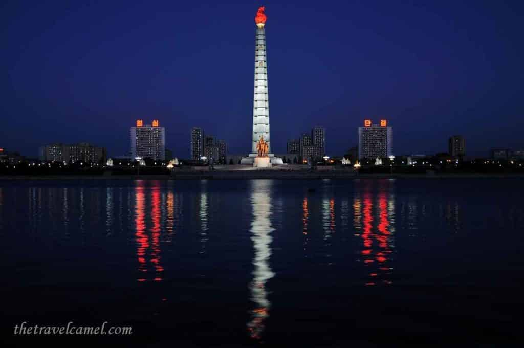 Juche Tower – Pyongyang, North Korea