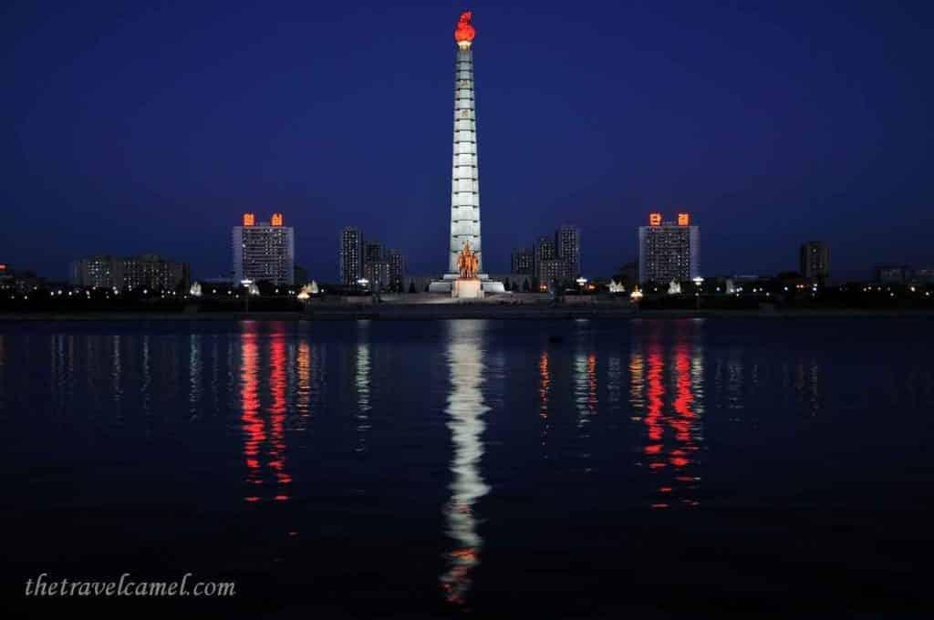 Juche Tower – Pyongyang, North Korea