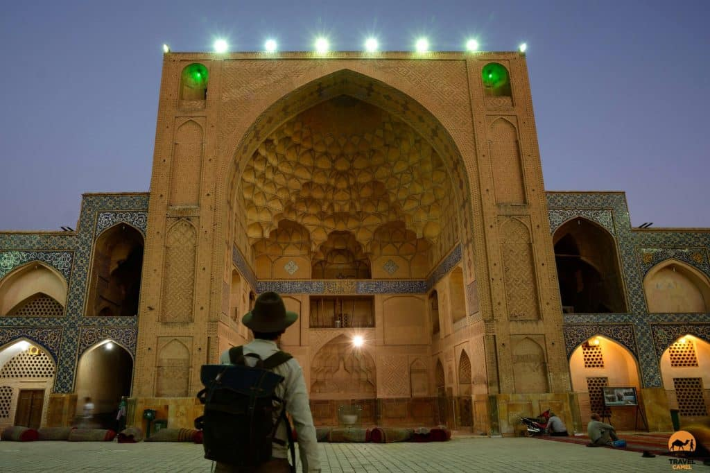 A Visit at Dusk to Jame Mosque - Esfahan, Iran