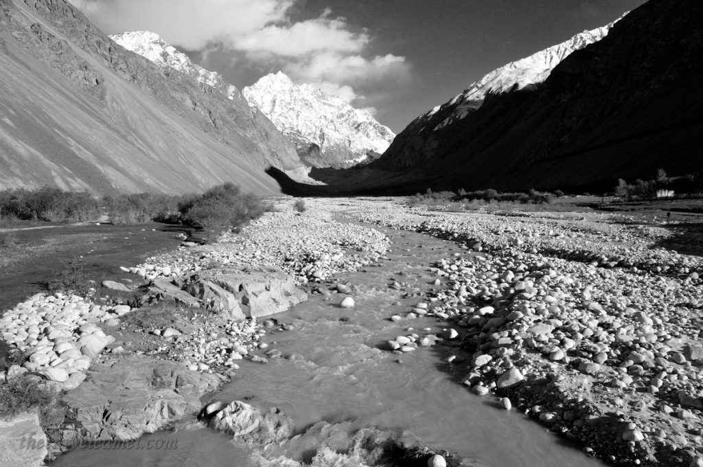 Afghanistan Landscape BW Display - 01