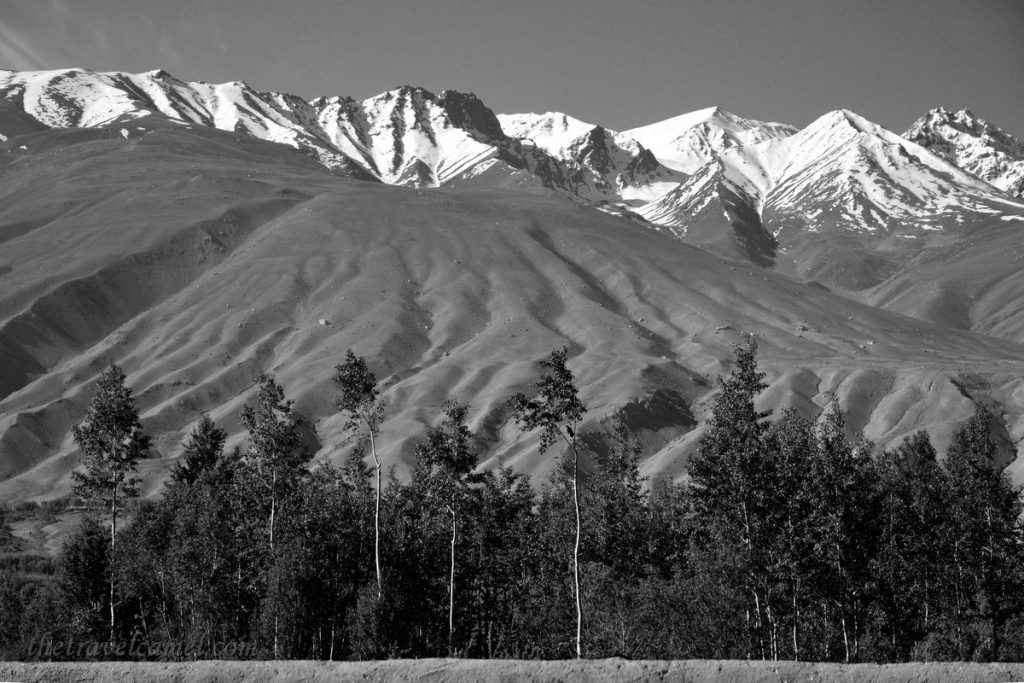 Afghanistan Landscape BW Display - 03