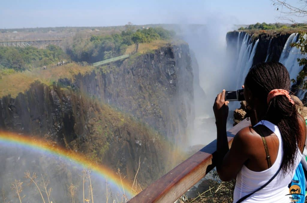 Capturing Memories Of Victoria Falls - Zambia