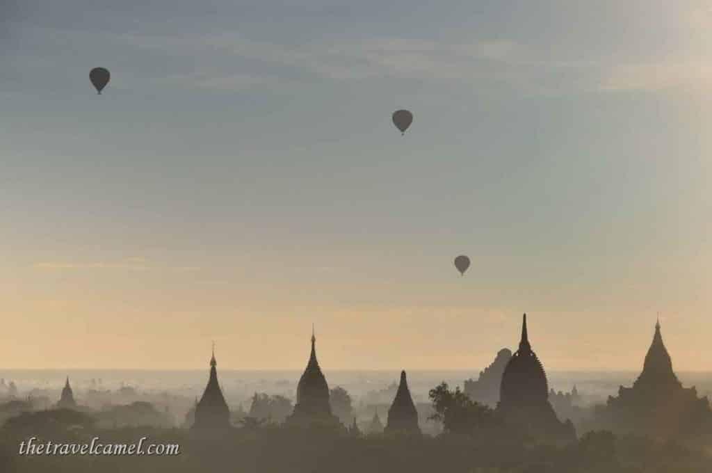Balloons - Bagan, Myanmar