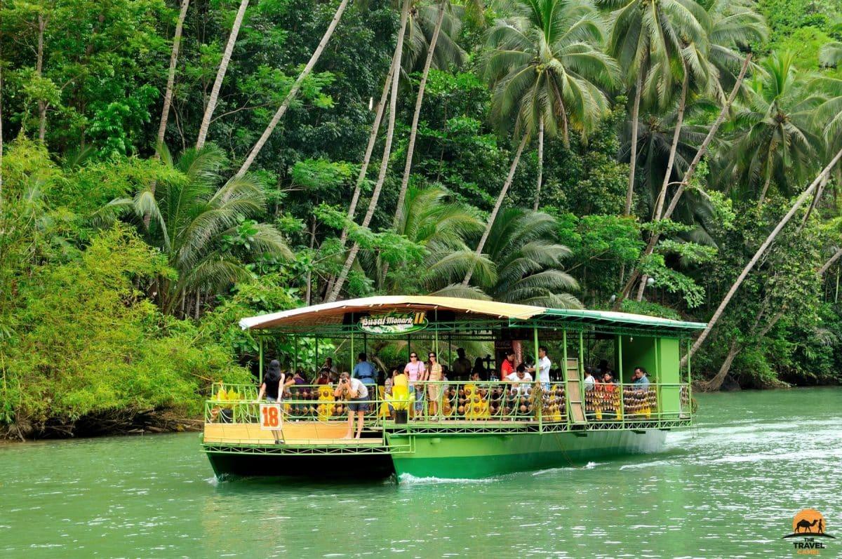 Cruising along the Loboc River - Bohol, Philippines