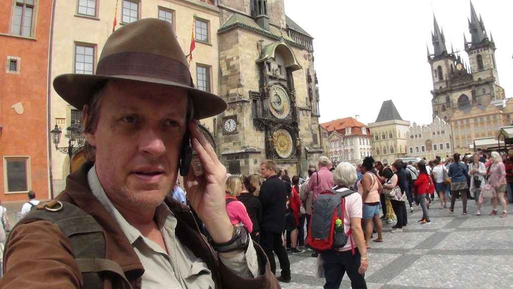 Broadcast from Prague