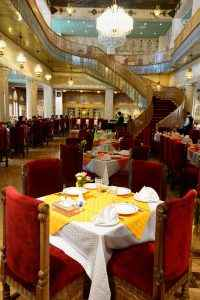 Chehelsotoon Restaurant, Hotel Hotel Abbasi, Esfahan (Day 10)