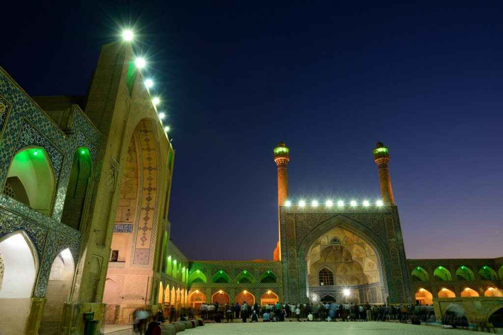 Dusk at the Jame Mosque of Esfahan (Day 12)