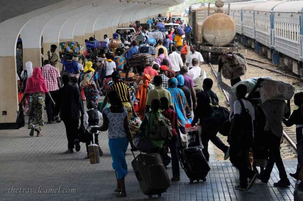 Tazara Train Boarding - Dar Es Salaam, Tanzania