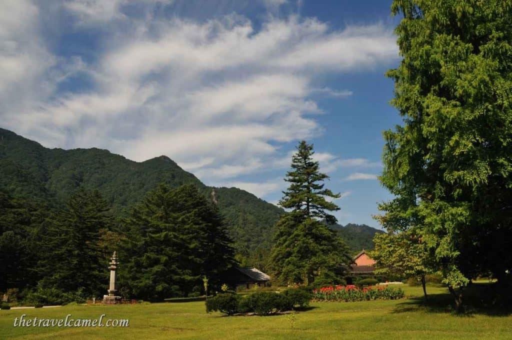 Pohyon Temple complex - Mt Myhongyang, North Korea
