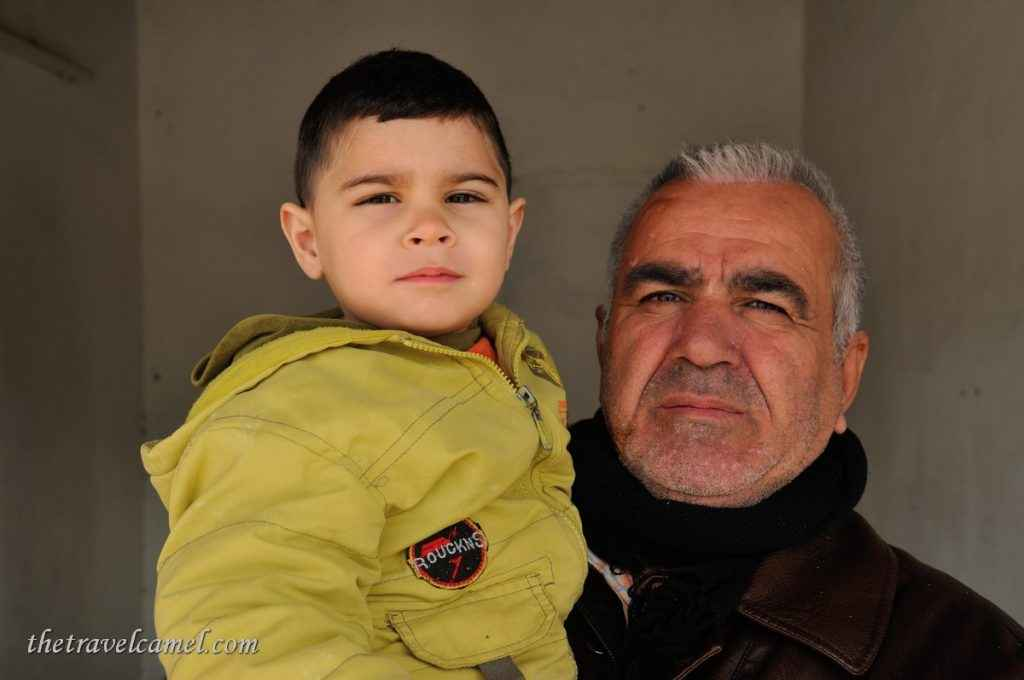 Father and Son - Dukan, Iraq