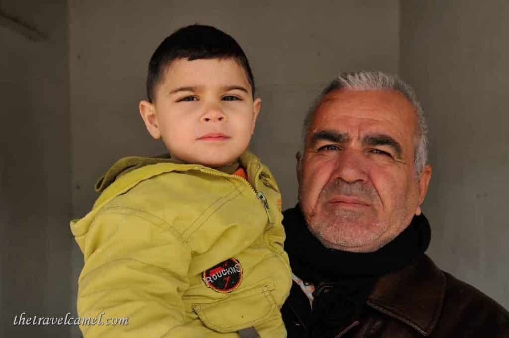 Father & Son - Dukan, Kurdistan