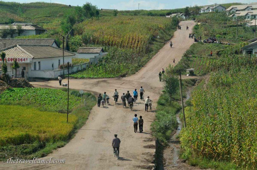 Rural scene - North Korea