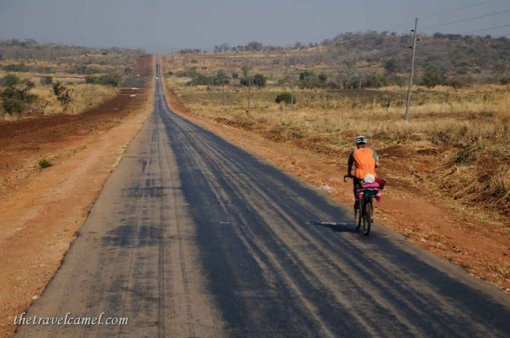 Long open road - Zambia