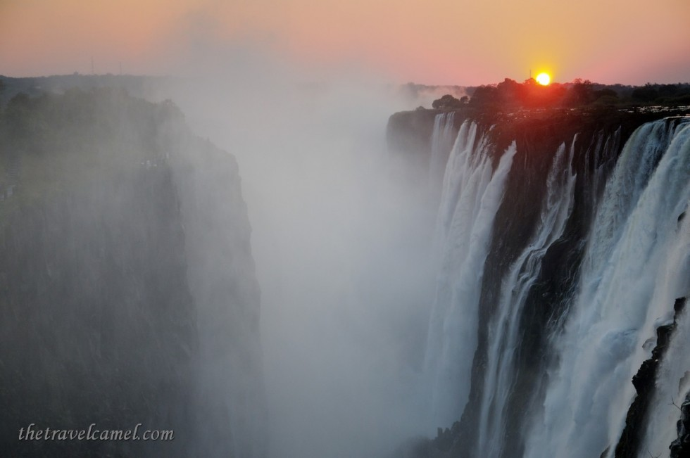 Sunset - Victoria Falls, Zambia