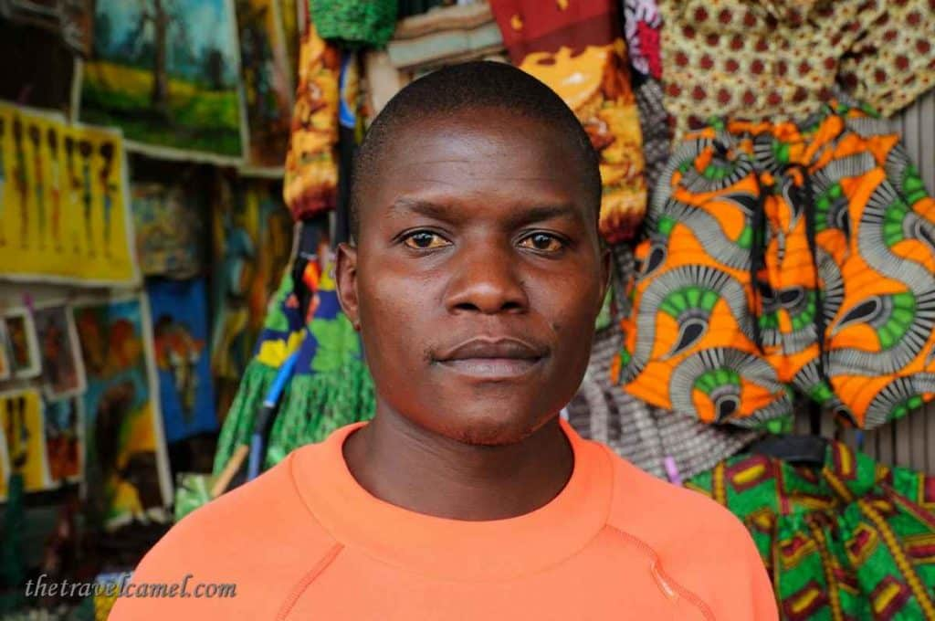 Juma the shopkeeper – Livingstone, Zambia