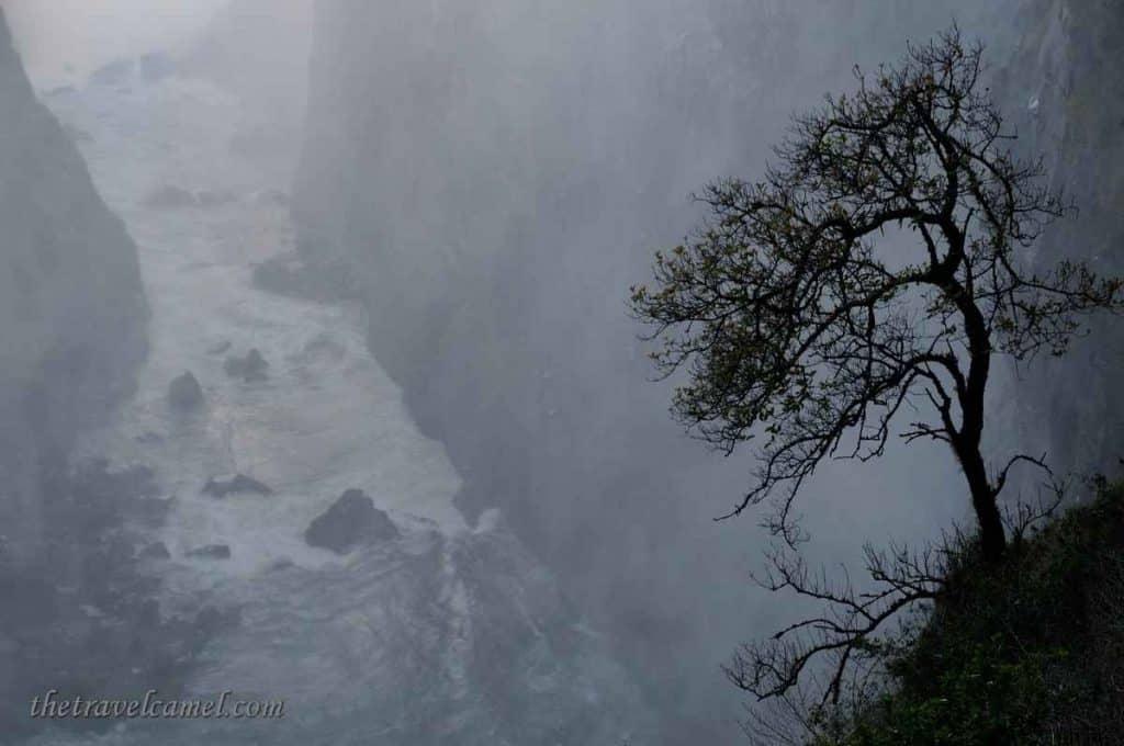 Mist of Victoria Falls - Zimbabwe