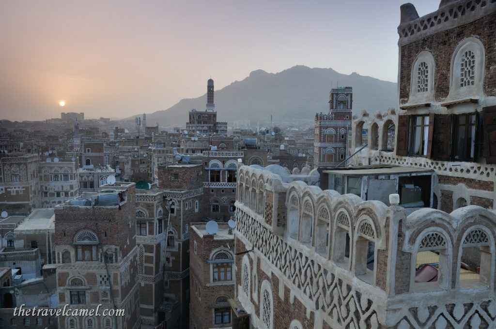 Sunrise – Old City, Sana'a Yemen