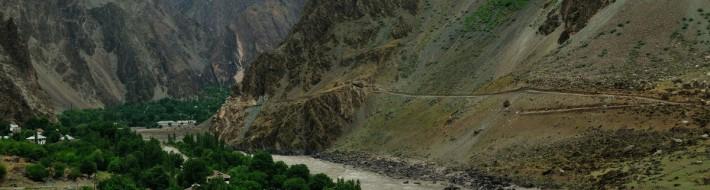 Village near Yoged - Tajikistan