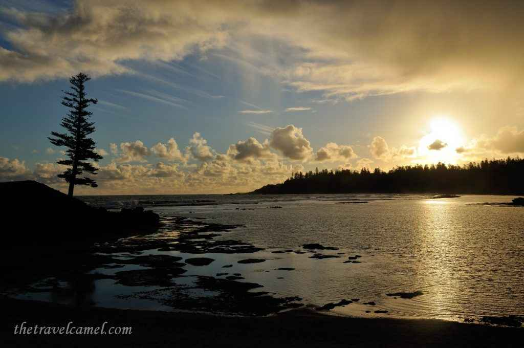 Sunset - Emily Bay, Norfolk Island