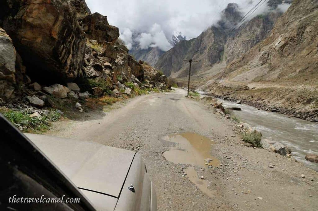 Close to Afghanistan - near Rushan, Tajikistan