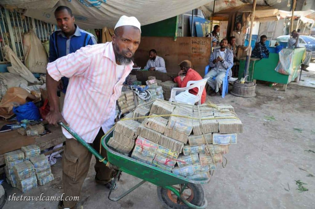 Mountains of money - Hargeisa, Somaliland