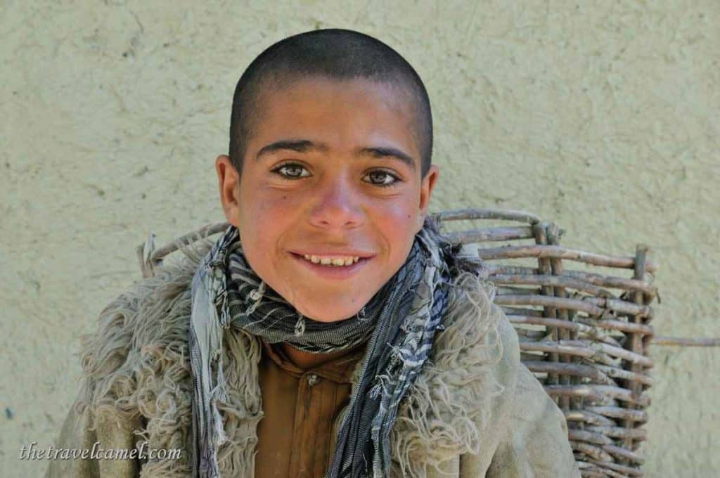 Friendly boy - Qala-e-Panja, Afghanistan