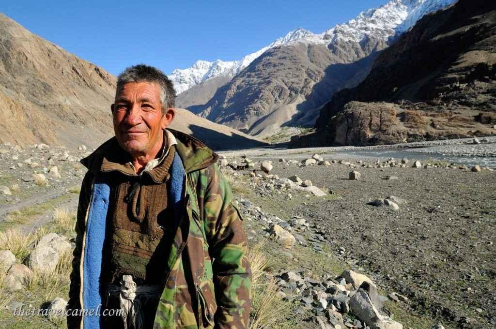 Shepherd - near Sargaz, Afghanistan