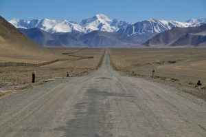 The road near Kara Kul