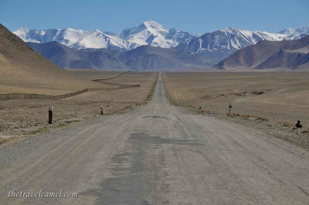 Pamir Highway - near Kara-kul, Tajikistan