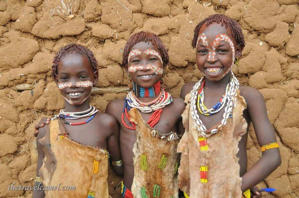 Hamer Children – Omo Valley, Ethiopia