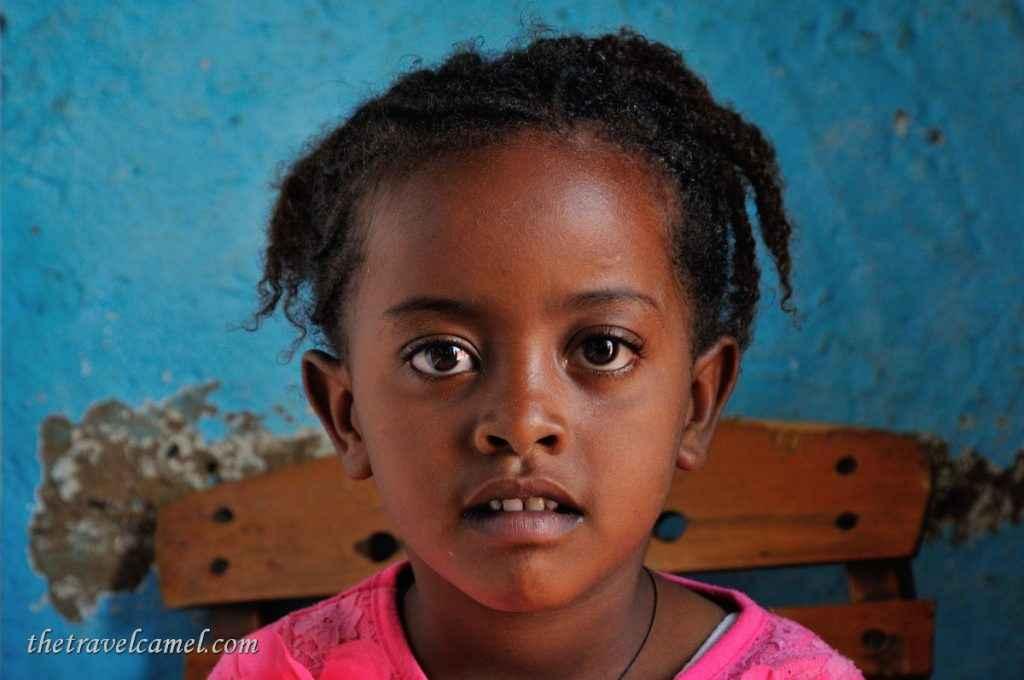 Curious girl - Axum, Ethiopia