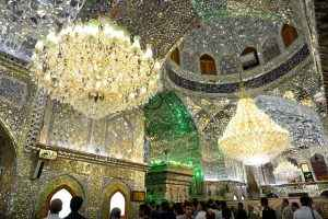 Interior of the Shah Cheragh Shrine, Shiraz (Day 3)