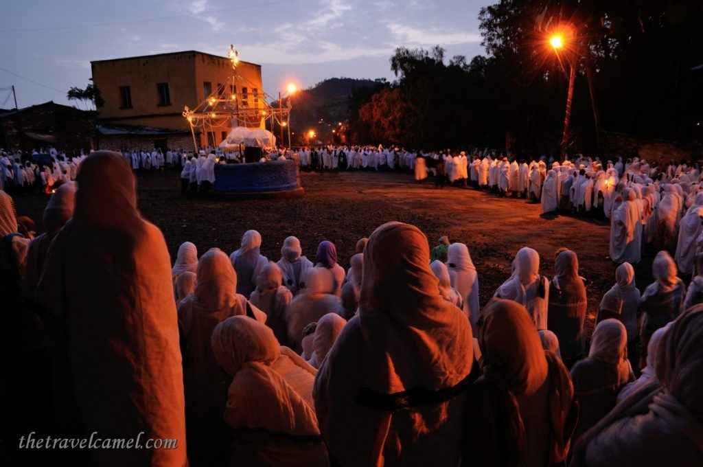 St Mary's Day Ceremony – Axum, Ethiopia