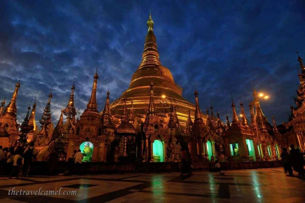 Shwedagon Paya - Yangon, Myanmar