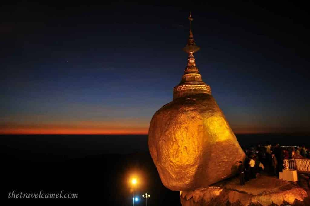 Golden Rock - Mt Kyaiktiyo, Myanmar