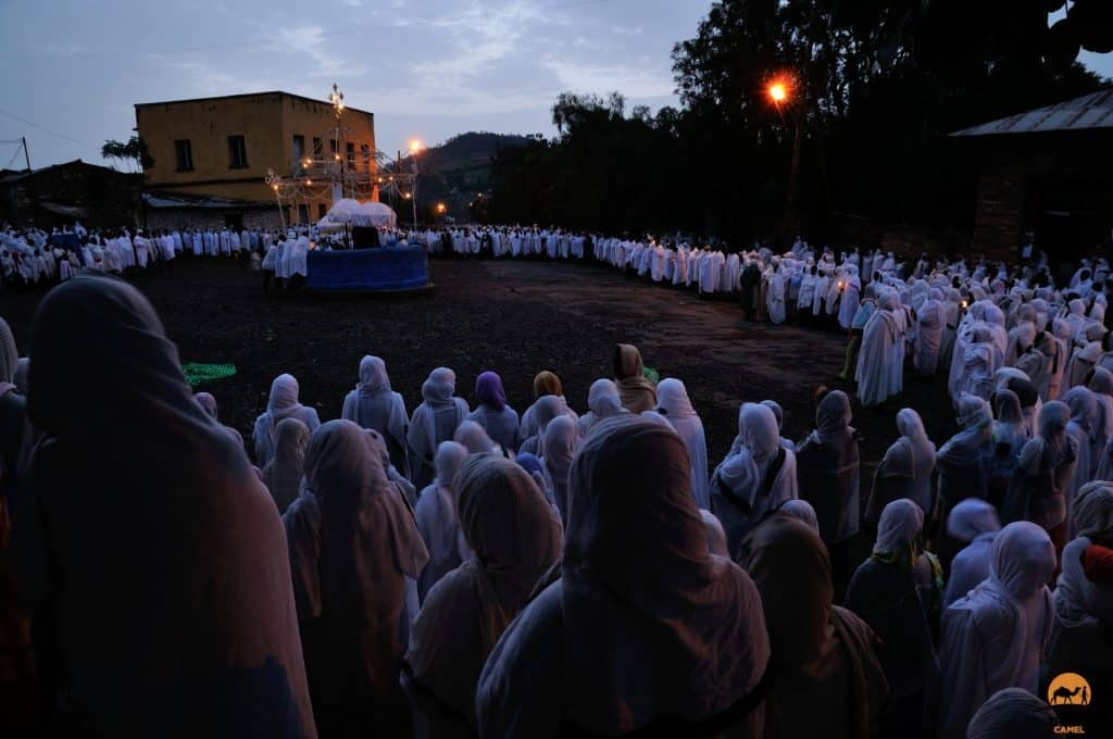 St Mary's Day in Axum - Ethiopia