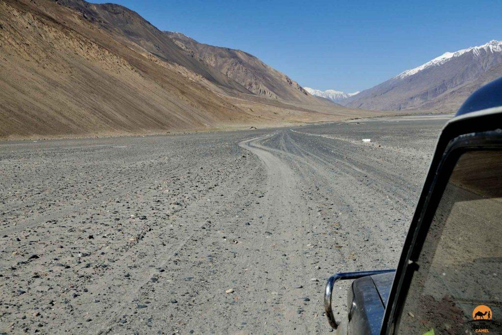 Dirt Road in the Wakhan Corridor - Afghanistan