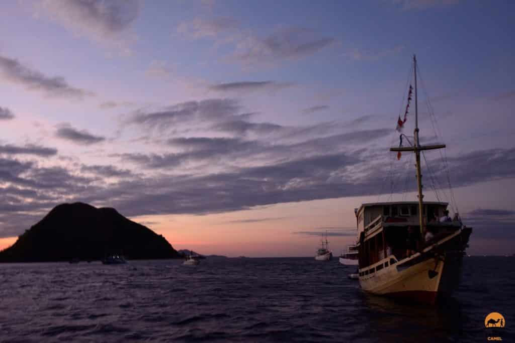 Dusk in the Flores Islands - Indonesia