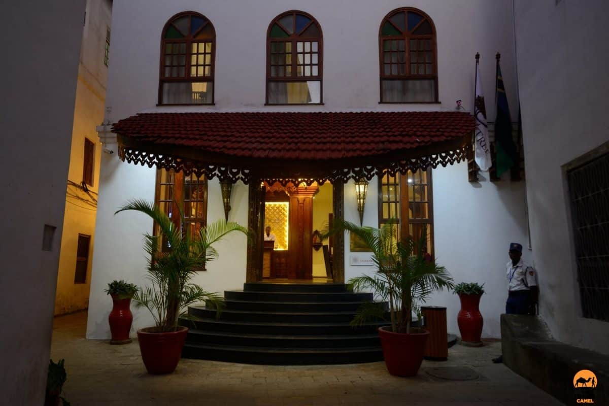 Evening Arrives at the DoubleTree by Hilton in Historic Stone Town - Zanzibar