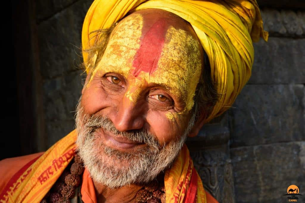 Friendly Sadhu at the Pashupatinath Temple - Kathmandu, Nepal