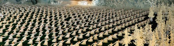 Incredible performance at the Mass Gymnastics and Artistic Performance(Mass Games) - Pyongyang, North Korea (DPRK)